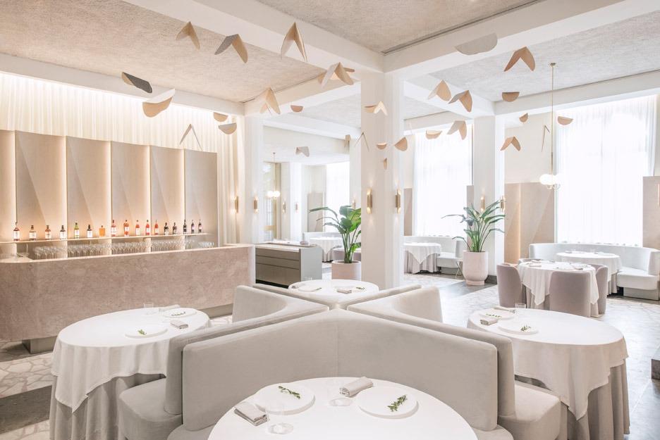 Дизайн интерьера ресторанов