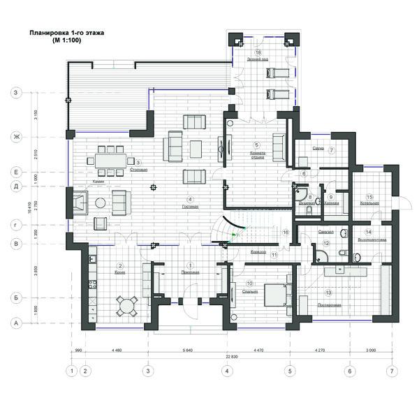 План 1-го этажа Ирина Жихорева