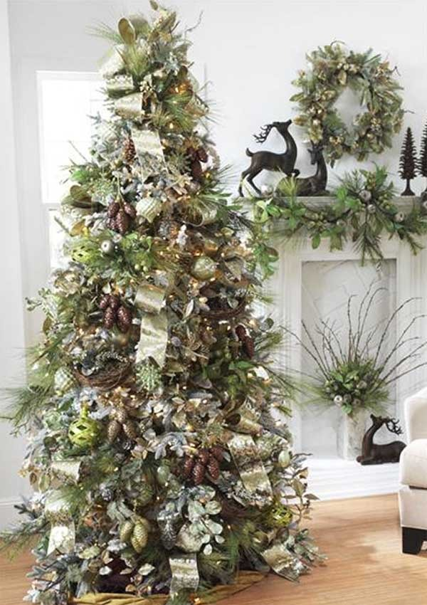 2011 Christmas Decor Trends Silver Green