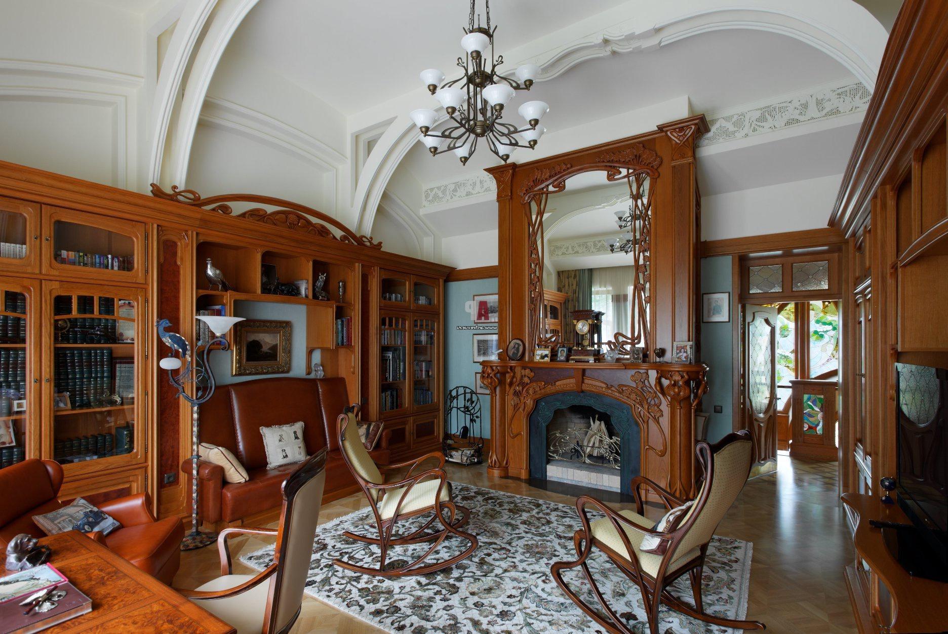 Модерн интерьер дома