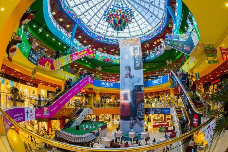 Разработка дизайна торгового центра