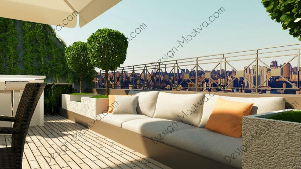 Дизайн проект Крыши. Ресторан 11