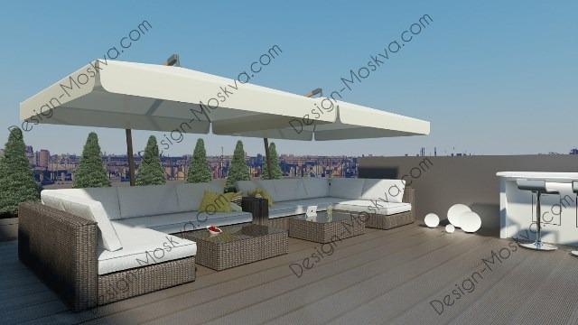 Дизайн Крыши. Ресторан 9