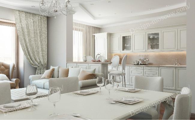 Дизайн квартиры в стиле Неоклассика