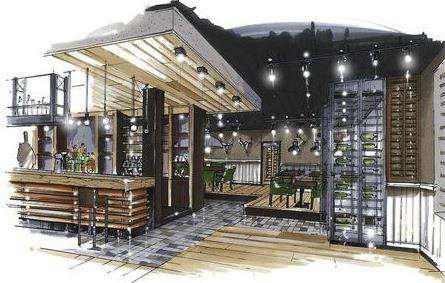 Планировки ресторана