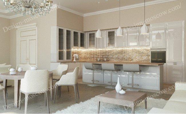 Дизайн квартиры для бизнес леди width=
