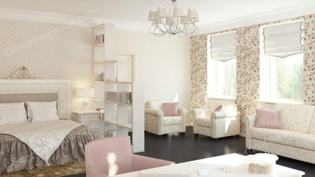 Дизайн квартиры для бизнес леди