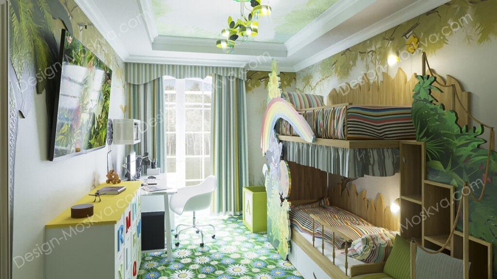 Дизайн детских комнат для девочек