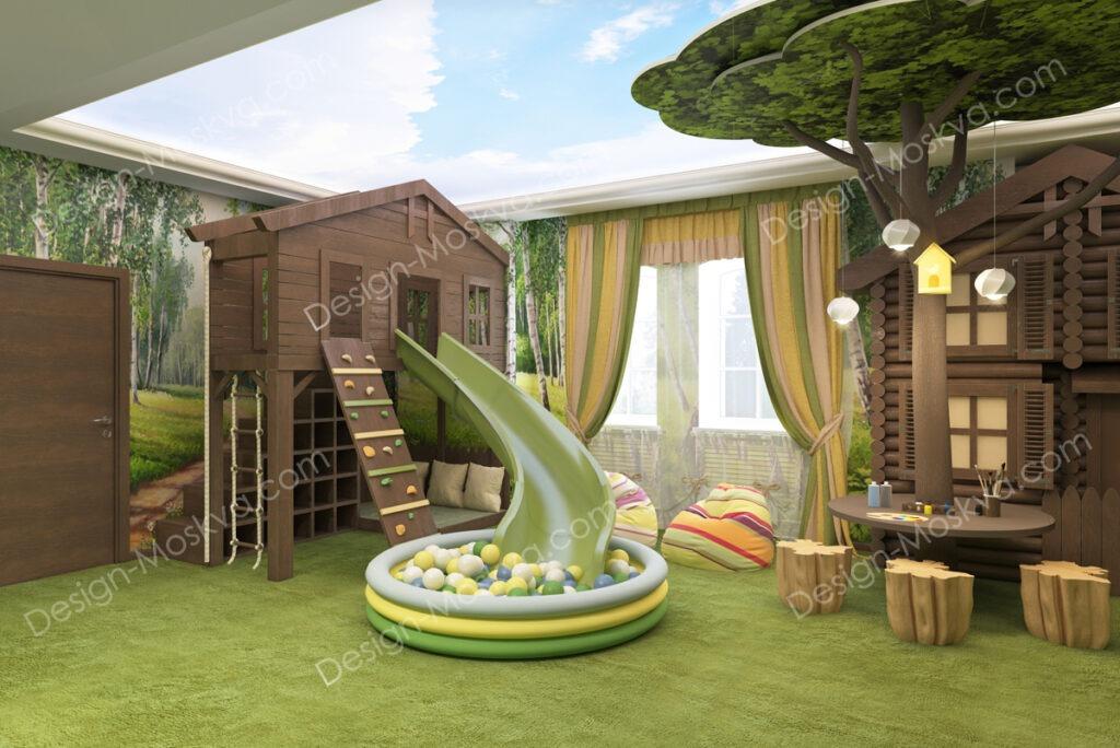 дизайн комнаты для малыша