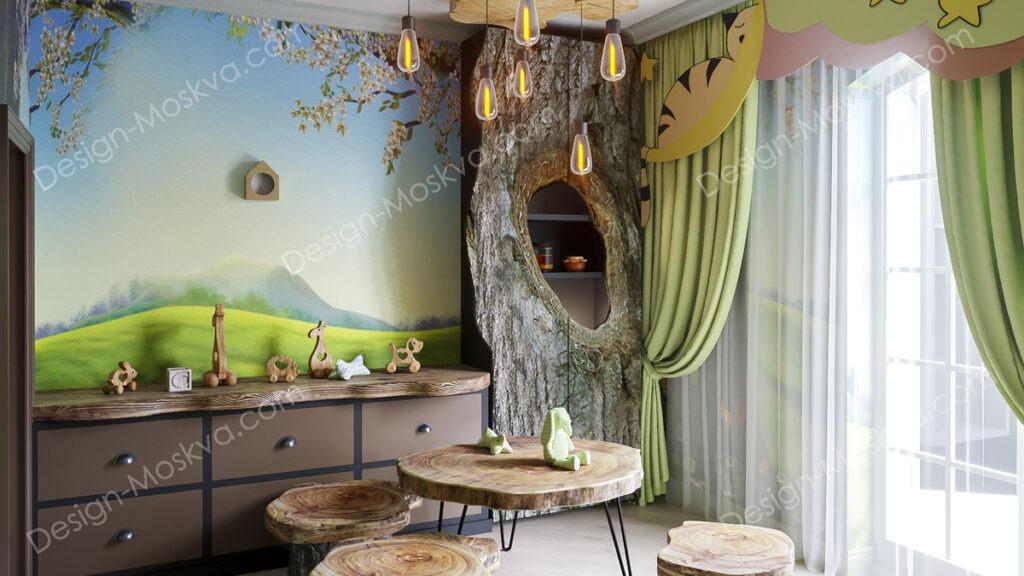 дизайн комнаты для малыша width=