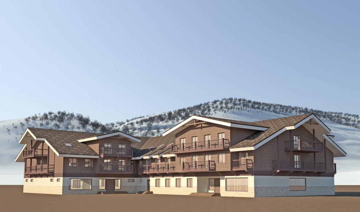 Проект гостиницы горнолыжного курорта